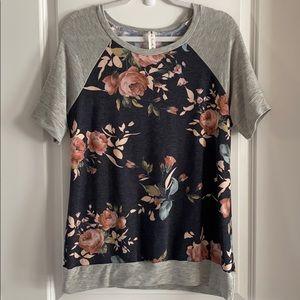 Vanilla Bay Floral Shirt